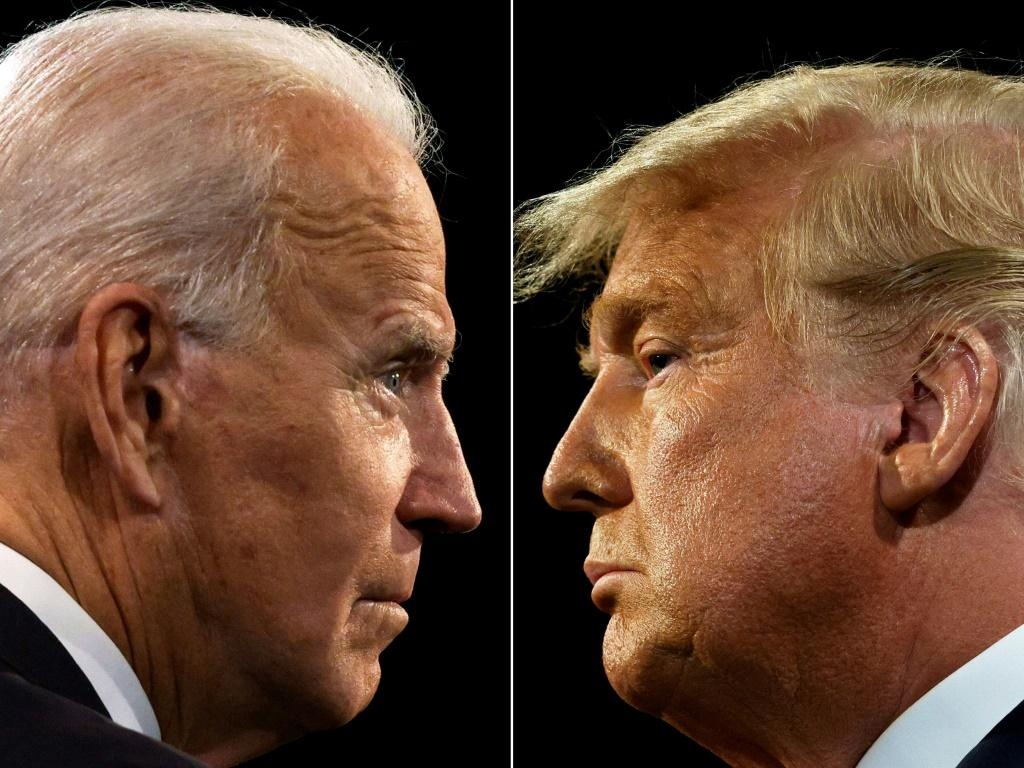 """Democratic presidential candidate Joe Biden has dismissed Donald Trump's """"photo-ops"""" with Kim as a """"vanity project"""