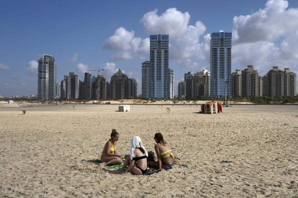 In Israel, people were enjoying their freedom after the government raised the second lockdown