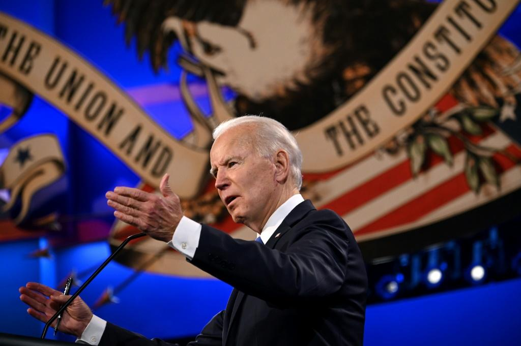 With markets betting on Joe Biden to win the White House next month, eyes were on his final presidential debate with Donald Trump
