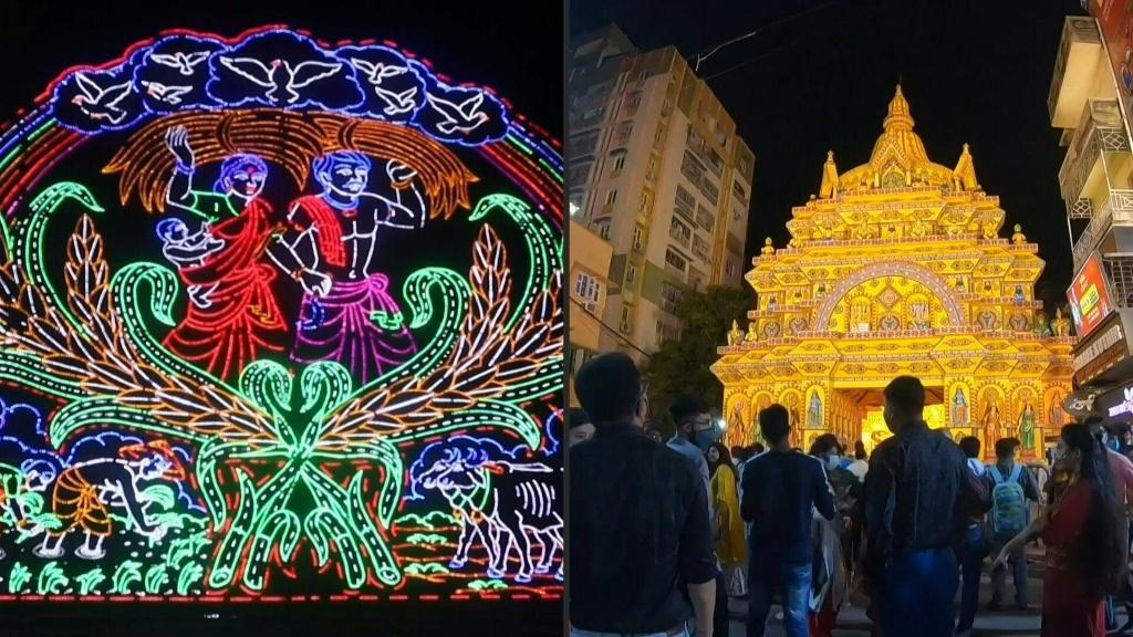 India: Durga Puja annual Hindu festival kicks off amid virus restrictions
