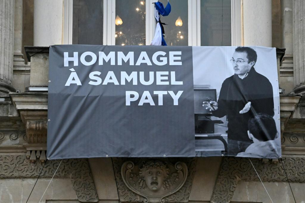 French teacher Samuel Paty was beheaded for showing cartoons of the Prophet Mohamed in his civics class