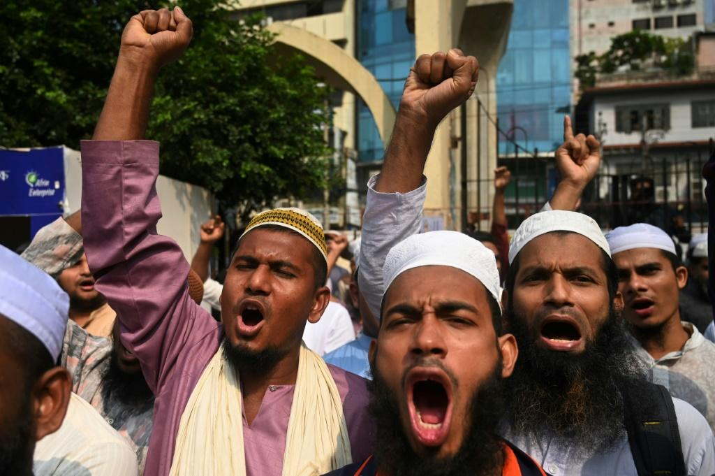 The rally was called by Islami Andolon Bangladesh (IAB), one of the country's largest Islamist parties