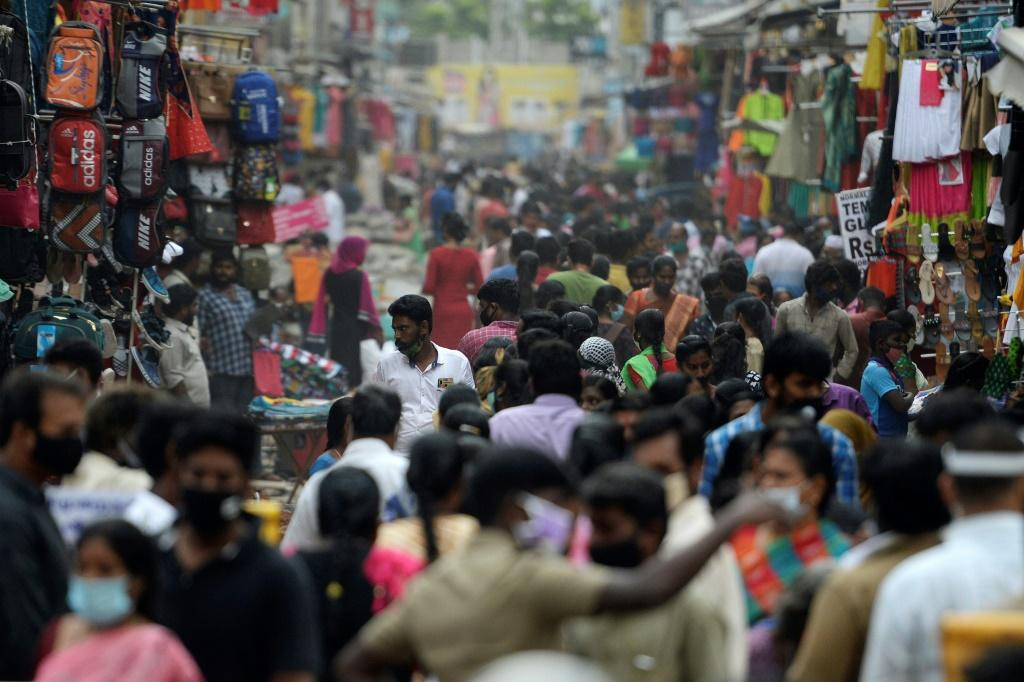 There have now been 8,040,203 virus cases and 120,527 deaths in India according to government figures