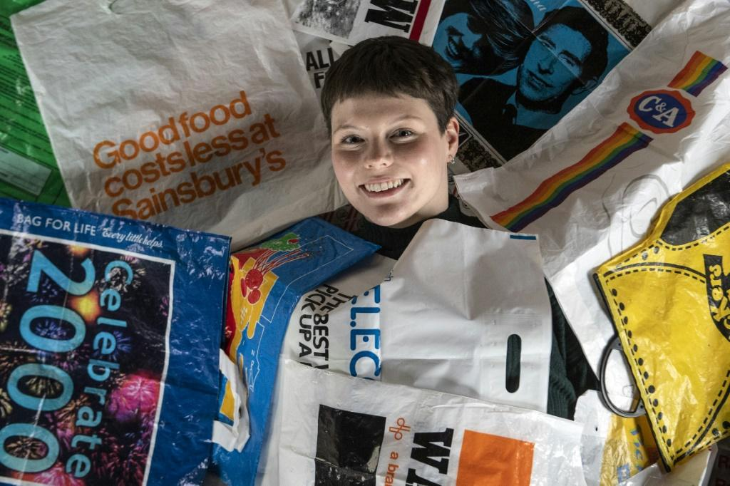 Cobain has received plastic bags from around the world
