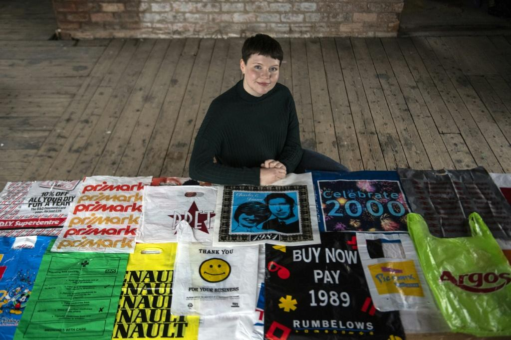 Cobain hopes that by creating a plastic bag museum, it will help people realise they are objects that belong to the past