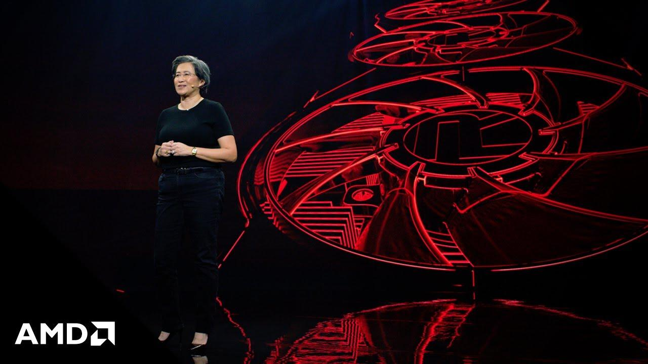 AMD CEO Dr. Lisa Su announces the new AMD Radeon™ RX 6000 Series graphics cards powered by the RDNA 2 architecture