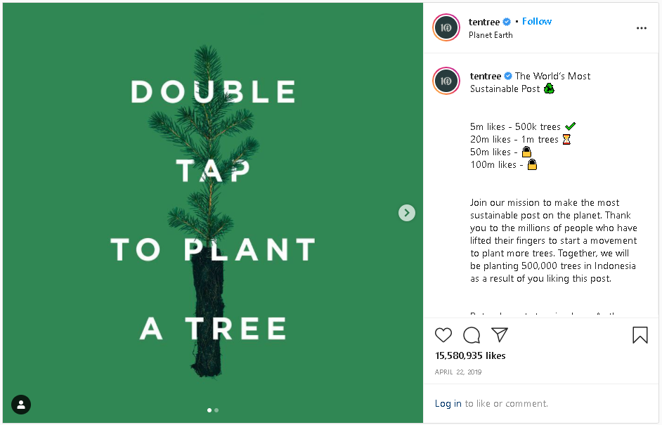 TenTree on Instagram