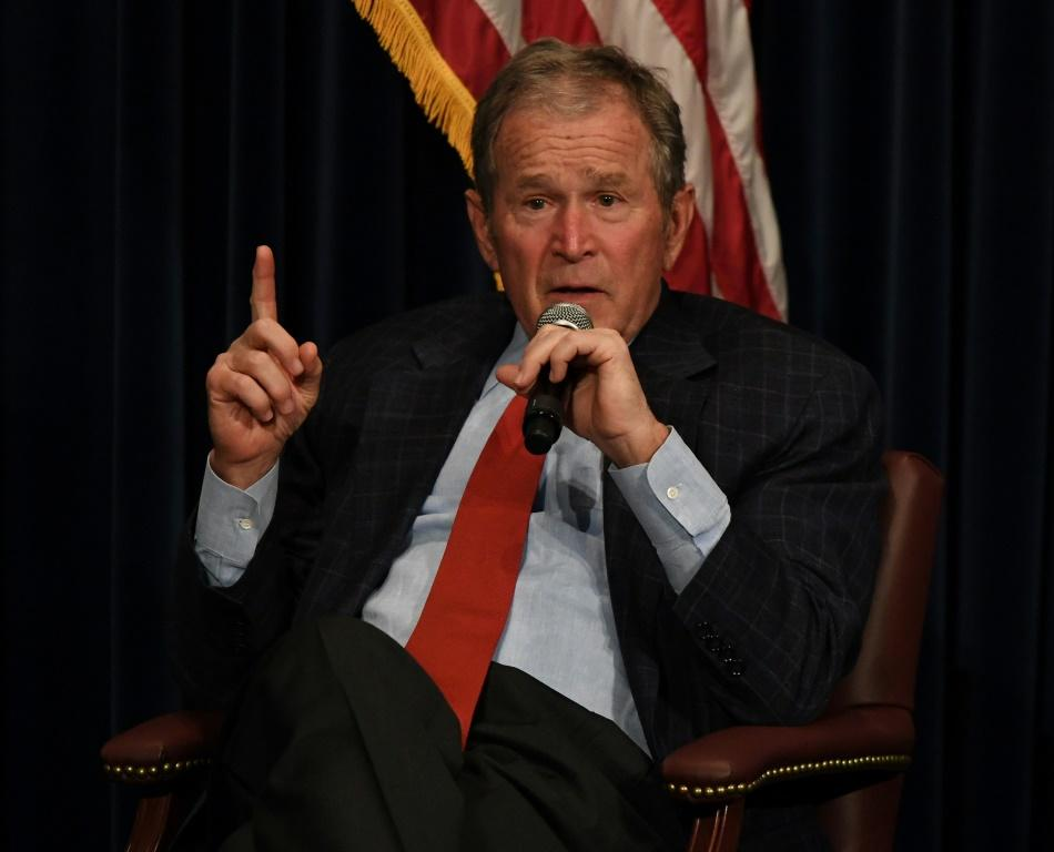 Former president George W. Bush congratulated President-elect Joe Biden and Vice President-elect Kamala Harris and said the 'outcome is clear'
