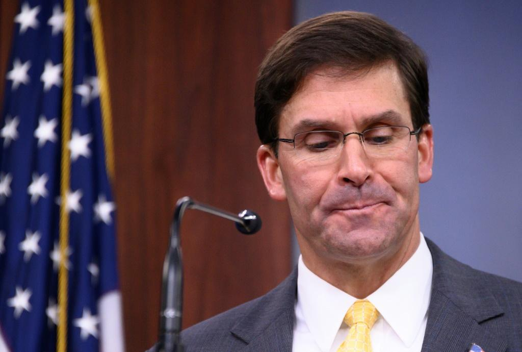 Fired by Trump: US Defense Secretary Mark Esper