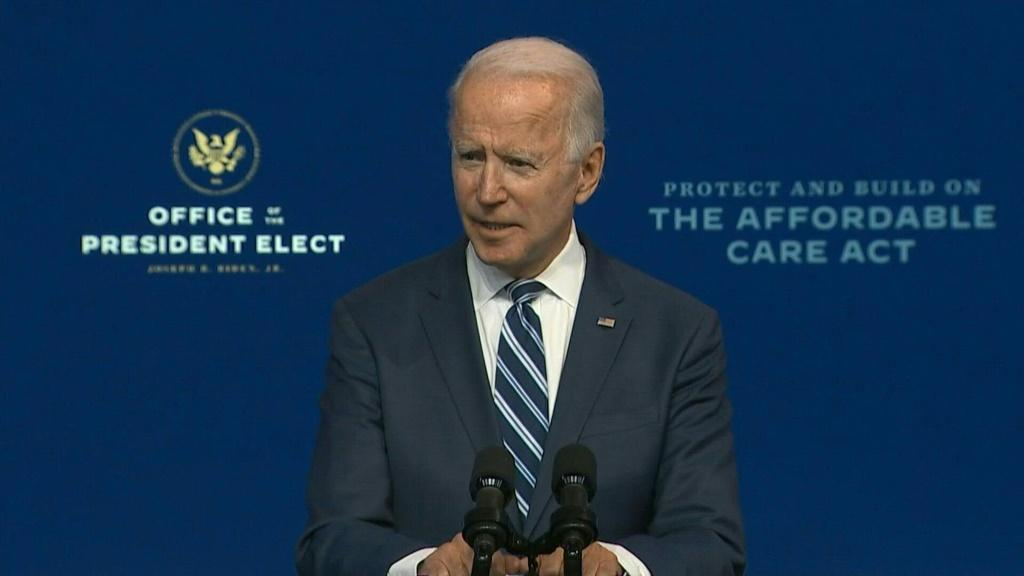 """President-elect Joe Biden says that Donald Trump's refusal to concede the US election is an """"embarrassment"""" that will reflect poorly on his legacy."""
