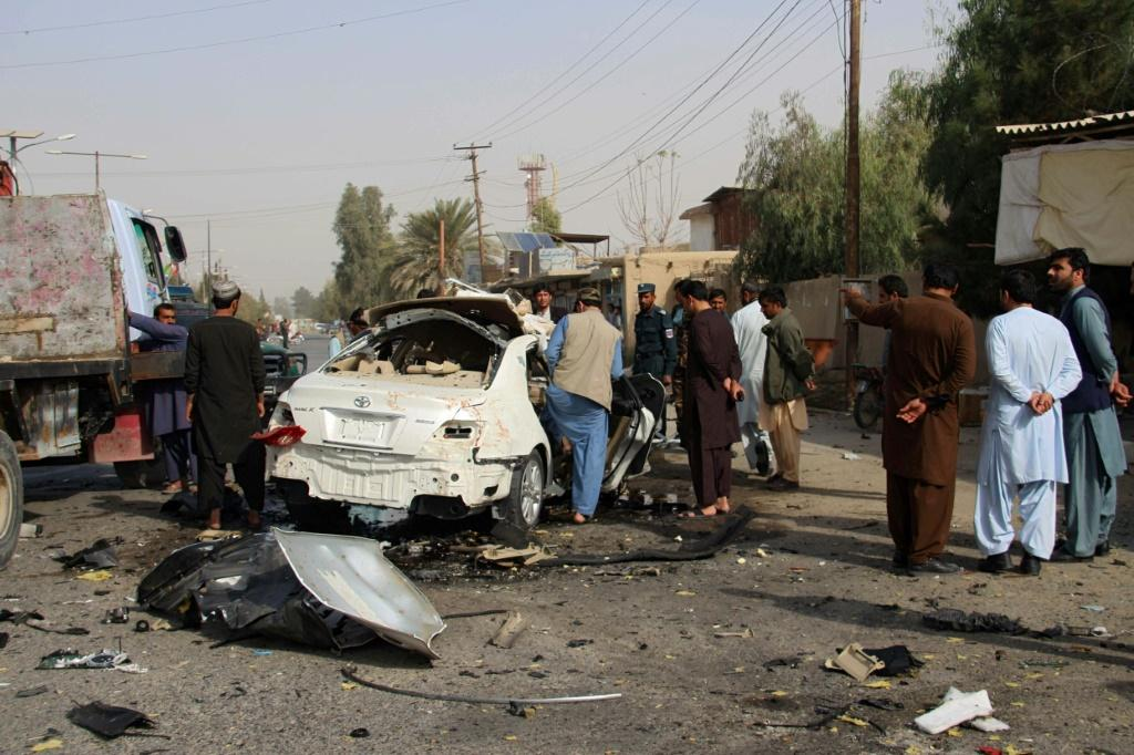 An Afghan journalist working for a US-funded radio network was killed in a blast in southern Afghanistan