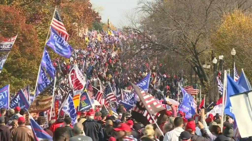 How Many Trump Supporters Went To 'Million MAGA March' In Washington, DC?