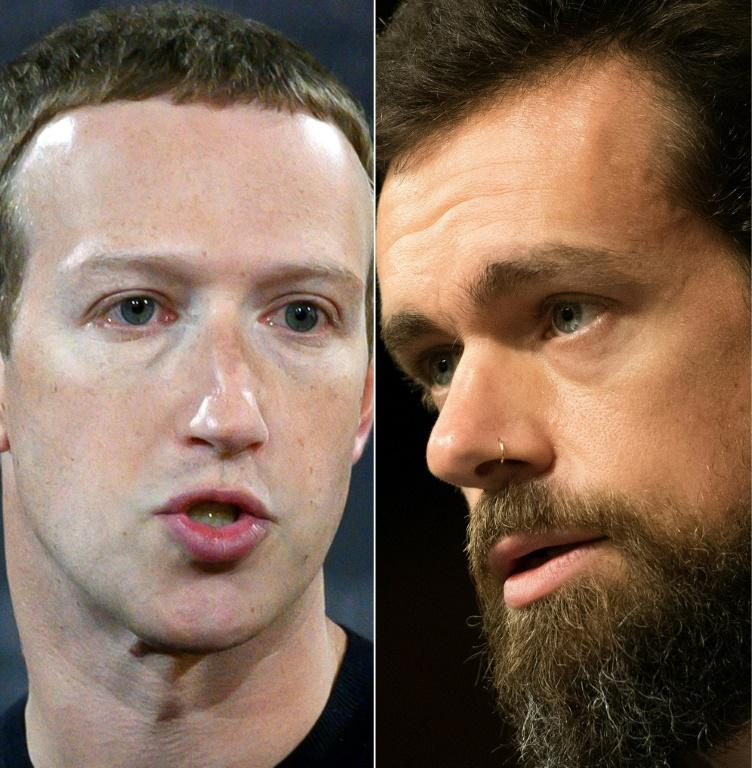 Facebook founder Mark Zuckerberg and Twitter CEO Jack Dorsey were set to testify before US lawmakers for the second time in a less than a month amid heated debate over the role of social media in politics after the 2020 election