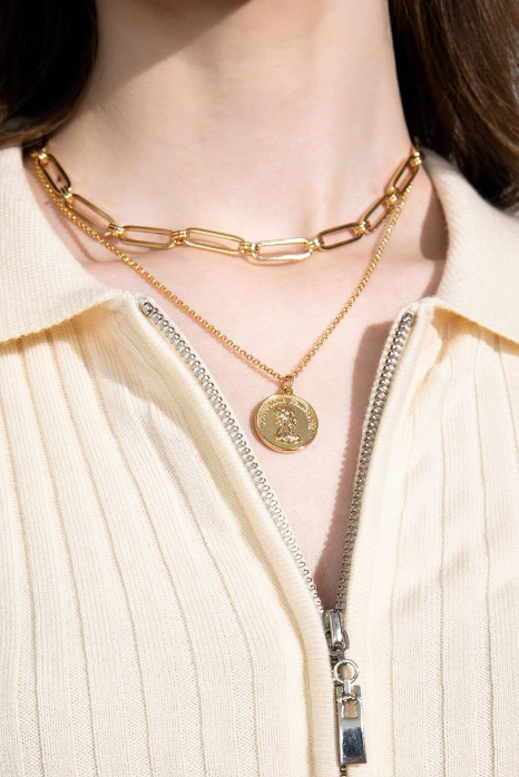 Ruta Chain Link Necklace