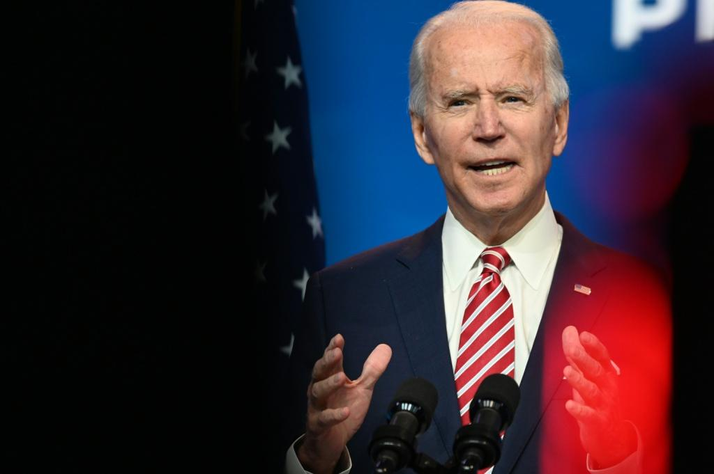 US President-elect Joe Biden called for more stimulus spending, but Senate Republians have yet to show willingness to spend the massive amount Democrats want