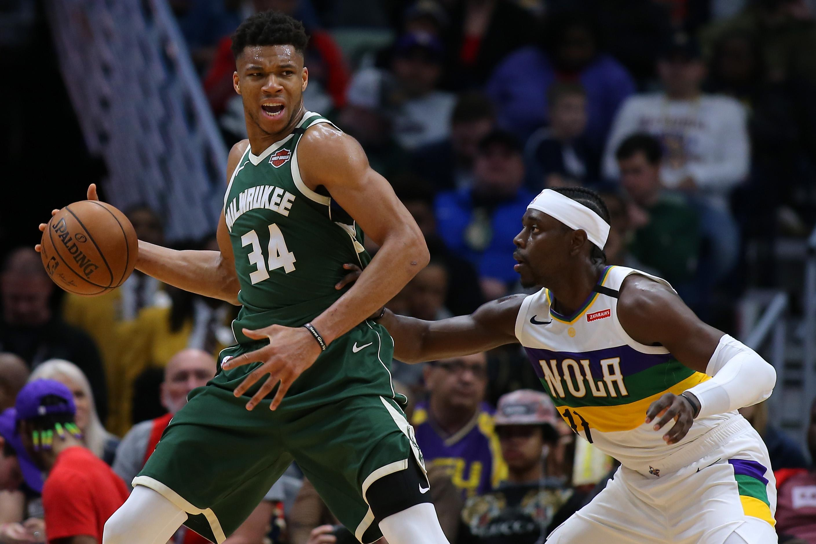 Giannis Antetokounmpo Jrue Holiday