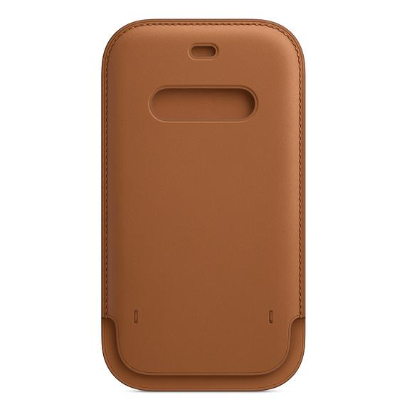 Apple iPhone 12/12 Pro Leather Sleeve with MagSafe