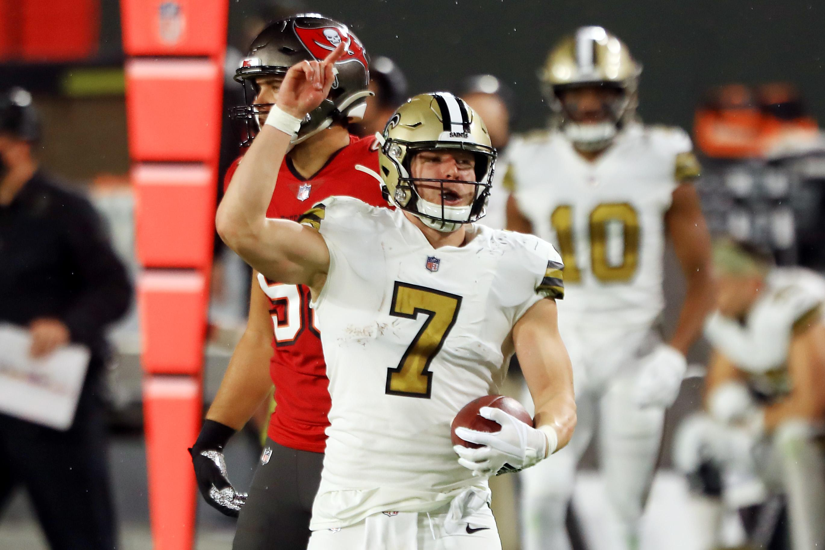 Saints to start Taysom Hill at quarterback vs. Falcons