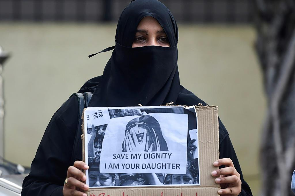 Indians have protested a series of gang-rape and murders of young women