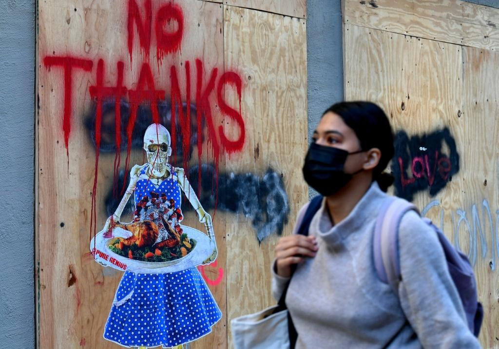 As the US prepares for Thanksgiving, several cities around the world including New York have been forced to impose containment measures