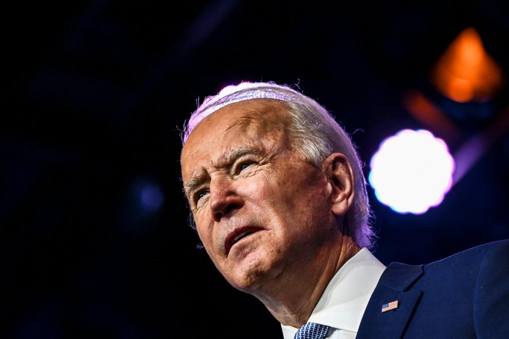 US President-elect Joe Biden says he still hasn't had a call from President Donald Trump