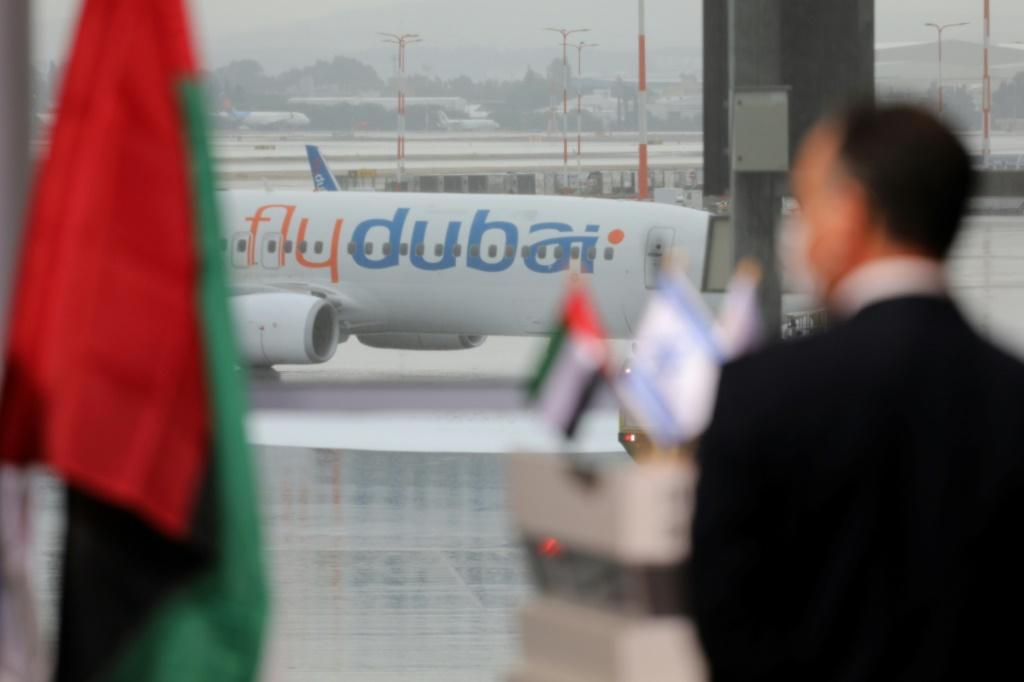 The flight comes weeks after the UAE became only the third Arab country to normalise ties with Israel