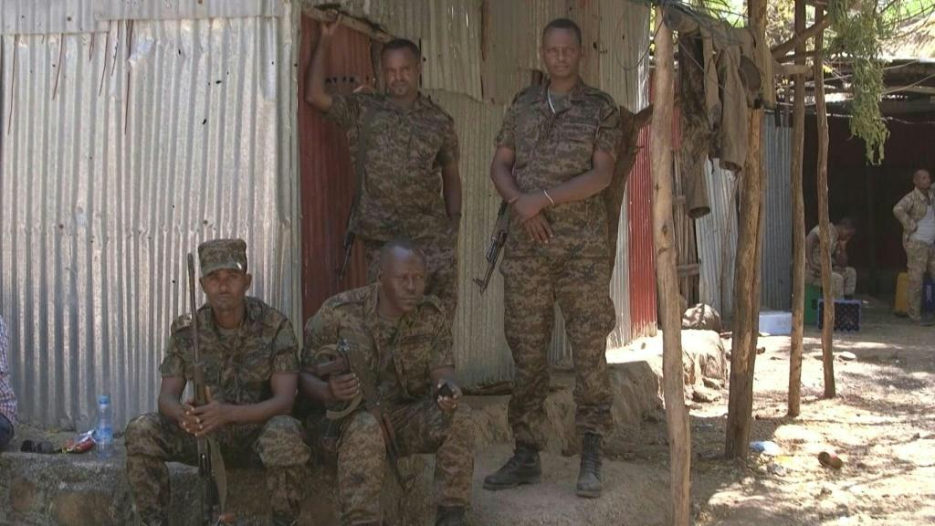 On the site of the army barracks where Ethiopia's conflict began