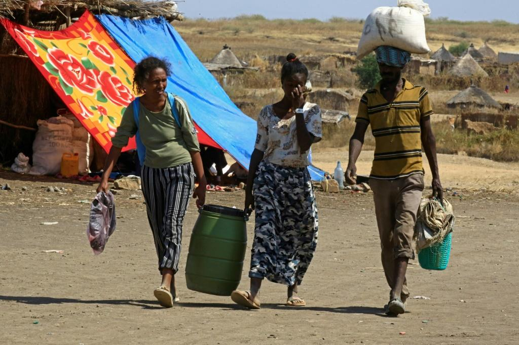Tens of thousands of refugees have fled Tigray for neighbouring Sudan