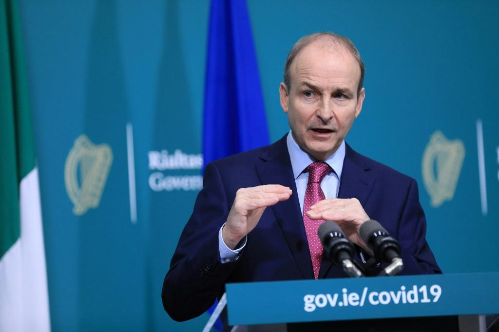 Prime minister Micheal Martin said people's sacrifices during lockdown had saved lives