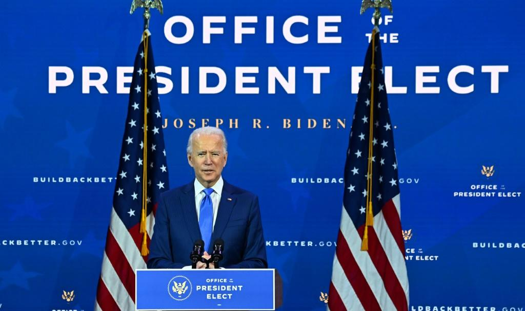 President-elect Joe Biden is preparing to take office while Donald Trump is still insisting he won the election