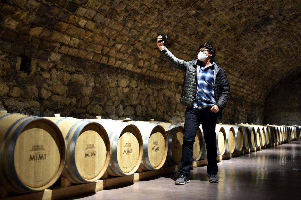A long-established wine industry has been one of Moldova's few bright spots but it has been hit hard by virus restrictions