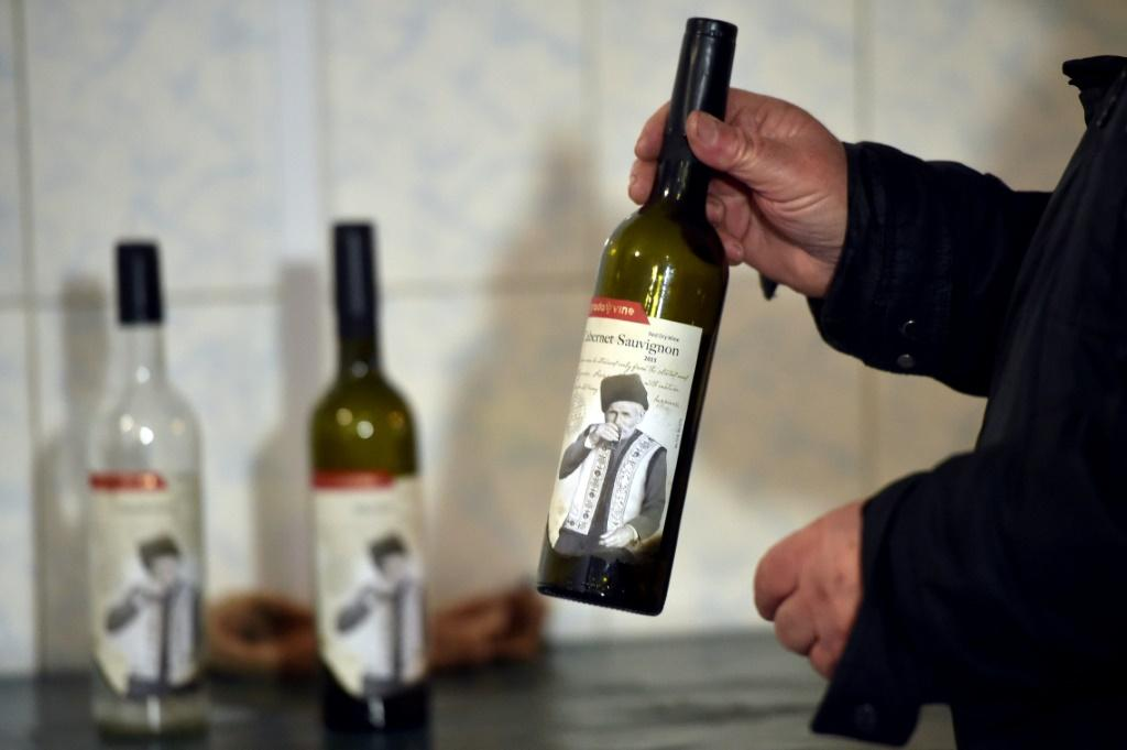 Georgy Cissa has spent 53 years in the business -- his bottles feature a label showing his winemaker grandfather