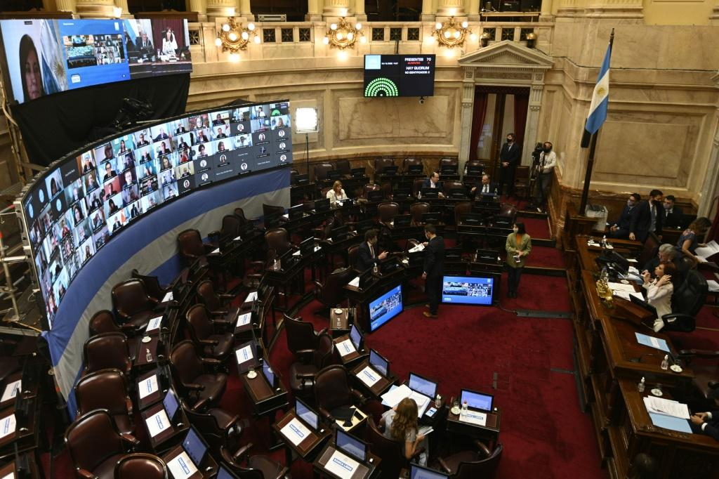 The tax was passed after a long and polarizing debate in Argentina's Senate