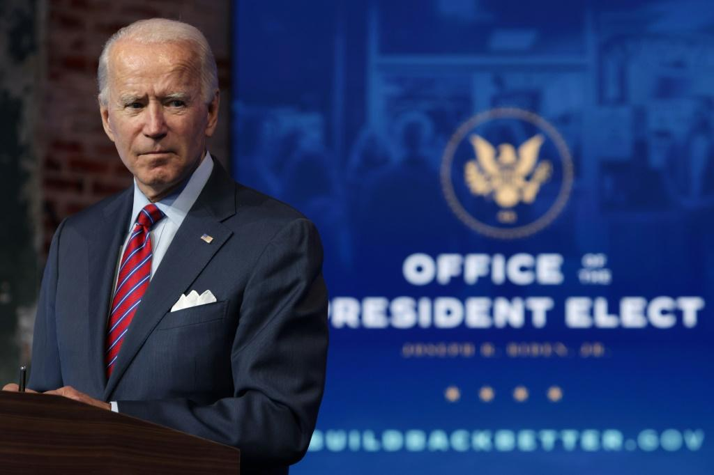 President-elect Joe Biden is to be sworn in on January 20, 2021