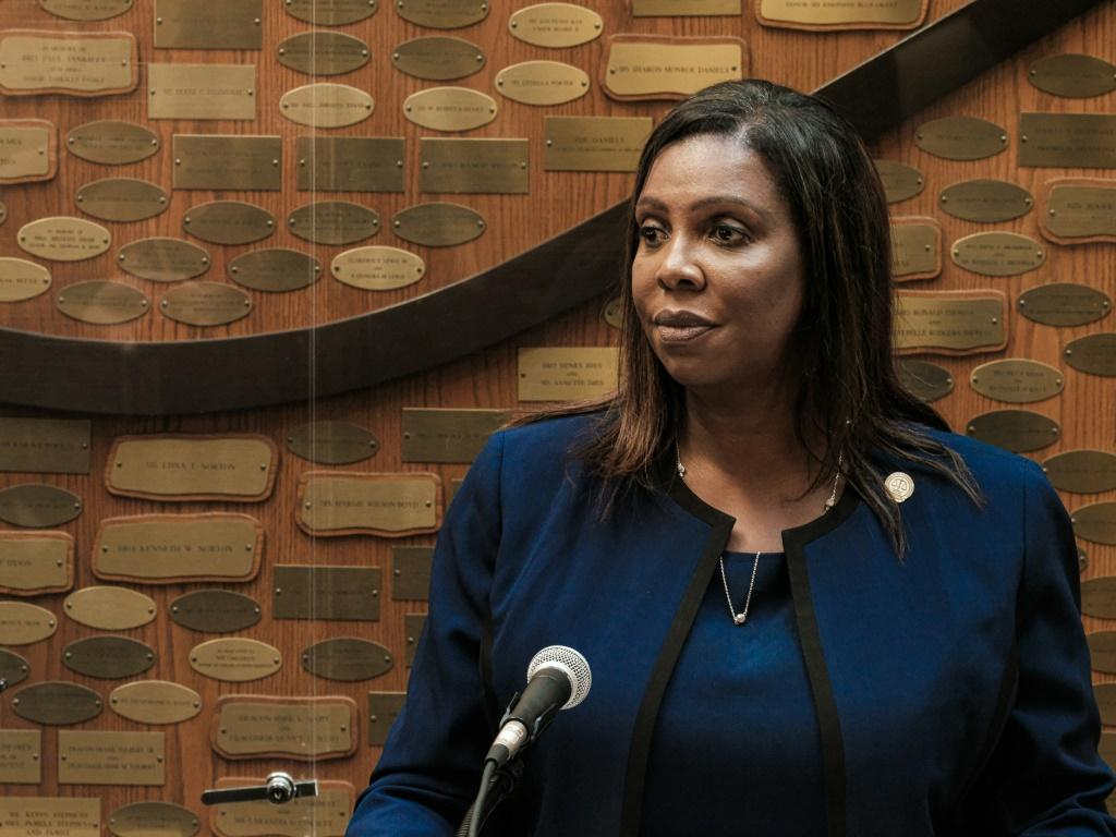New York State Attorney General Letitia James heads a coalition of states suing Facebook over antitrust violations and seeking to roll back the deals for Instagram and WhatsApp