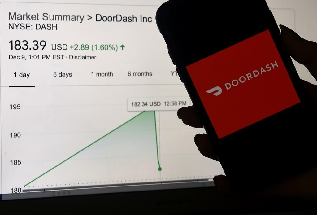 Meal delivery group DoorDash saw its shares surge in its Wall Street debut this week in a sign of frenzied demand for emerging companies adapting to the coronavirus pandemic