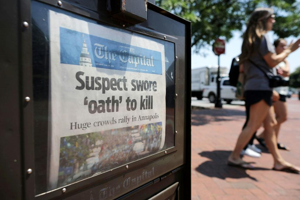 The Capitol Gazette in Annapolis, Maryland, attacked by a gunman in 2018, has closed its newsroom and has all its journalists working remotely