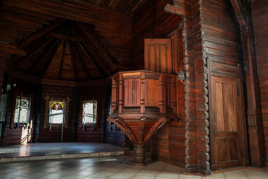 Built in the Nordic style in 1905, the church is only one of three stave churches from the era still standing in Germany