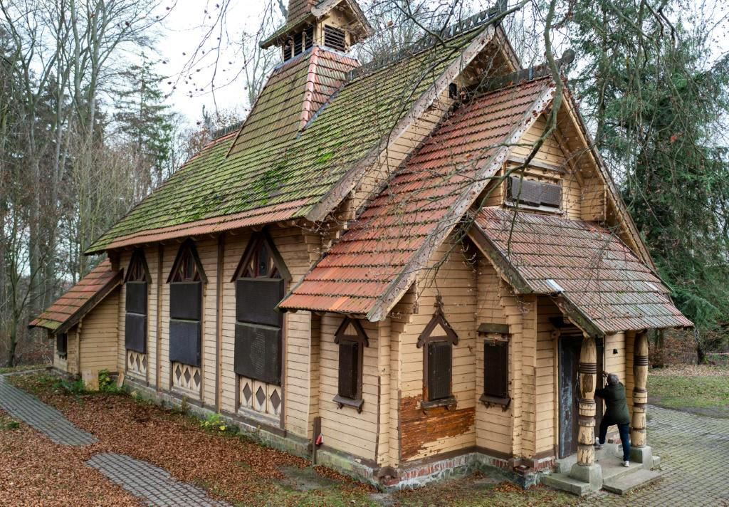 In its new home, the association hopes the stave church will become an open space for community events