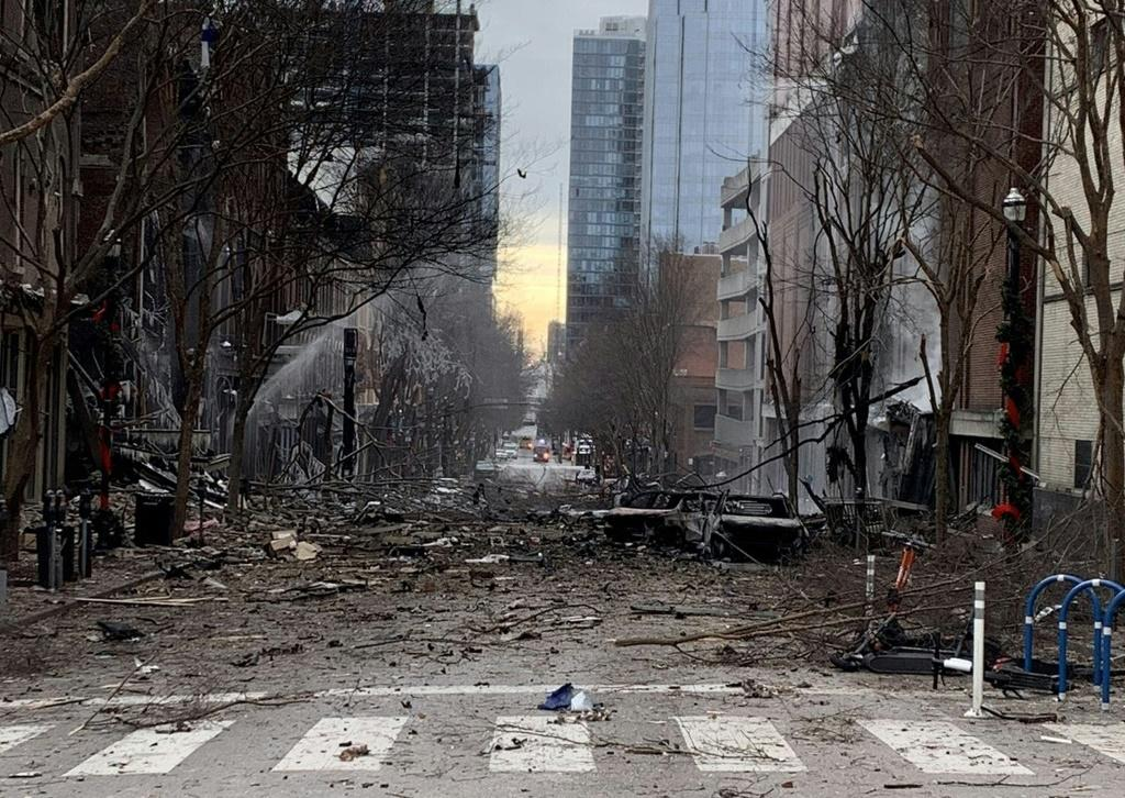 The explosion on Christmas morning in downtown Nashville damaged dozens of businesses