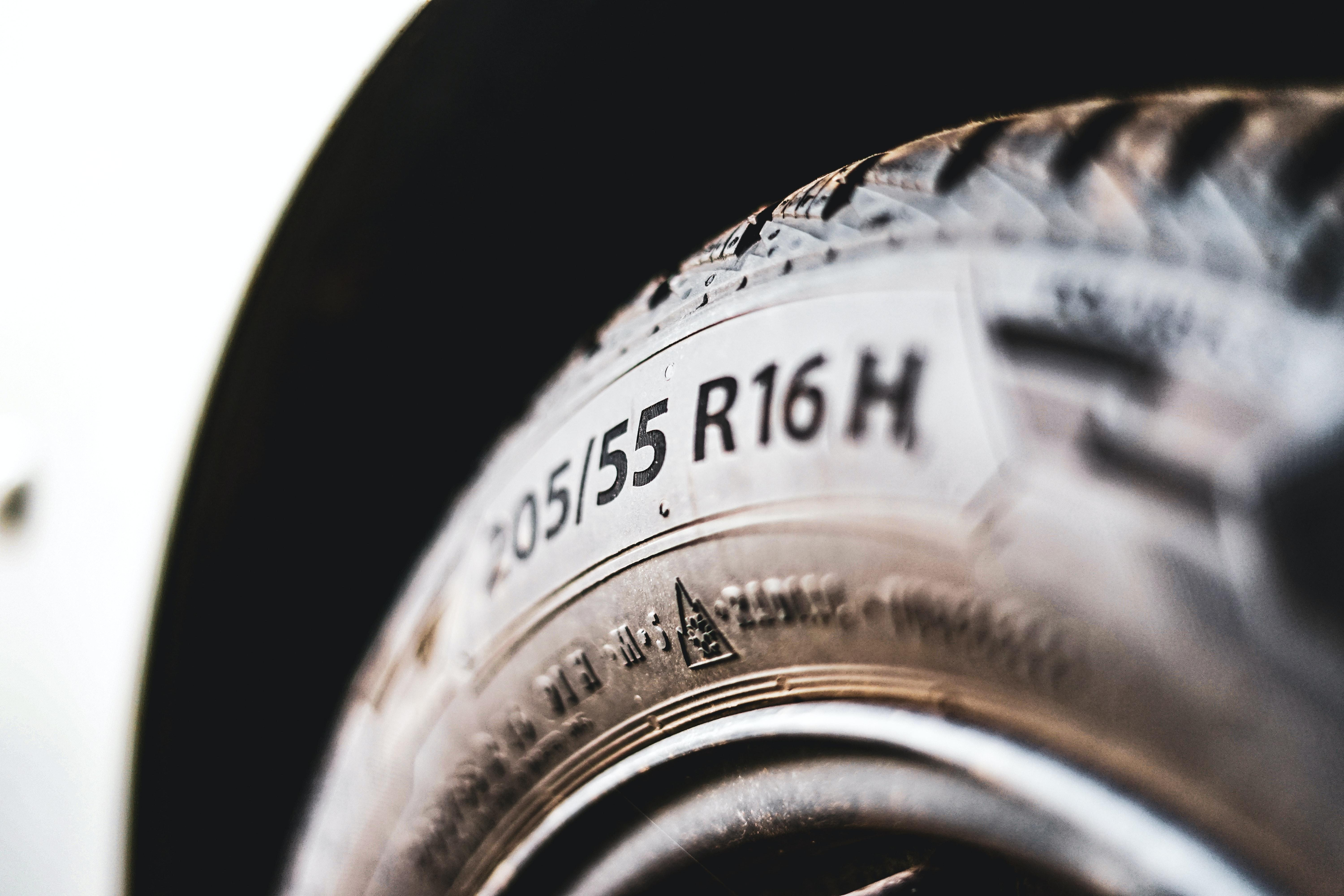 Sidewall of a touring tire.