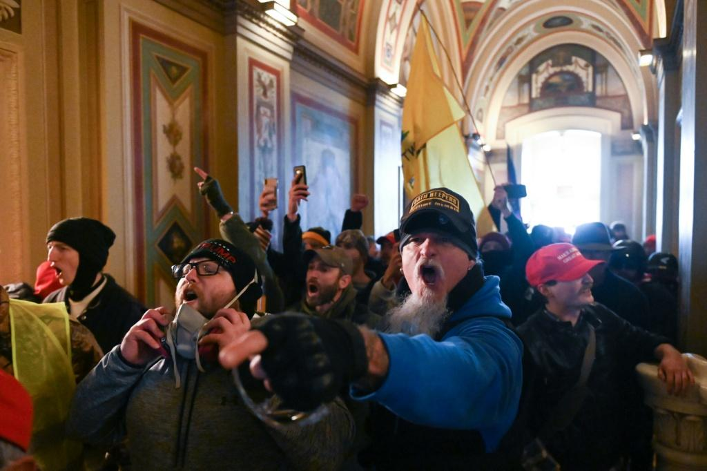 Protesters stormed the US Capitol in Washington, disrupting a joint session of Congress that would certify Joe Biden's election win
