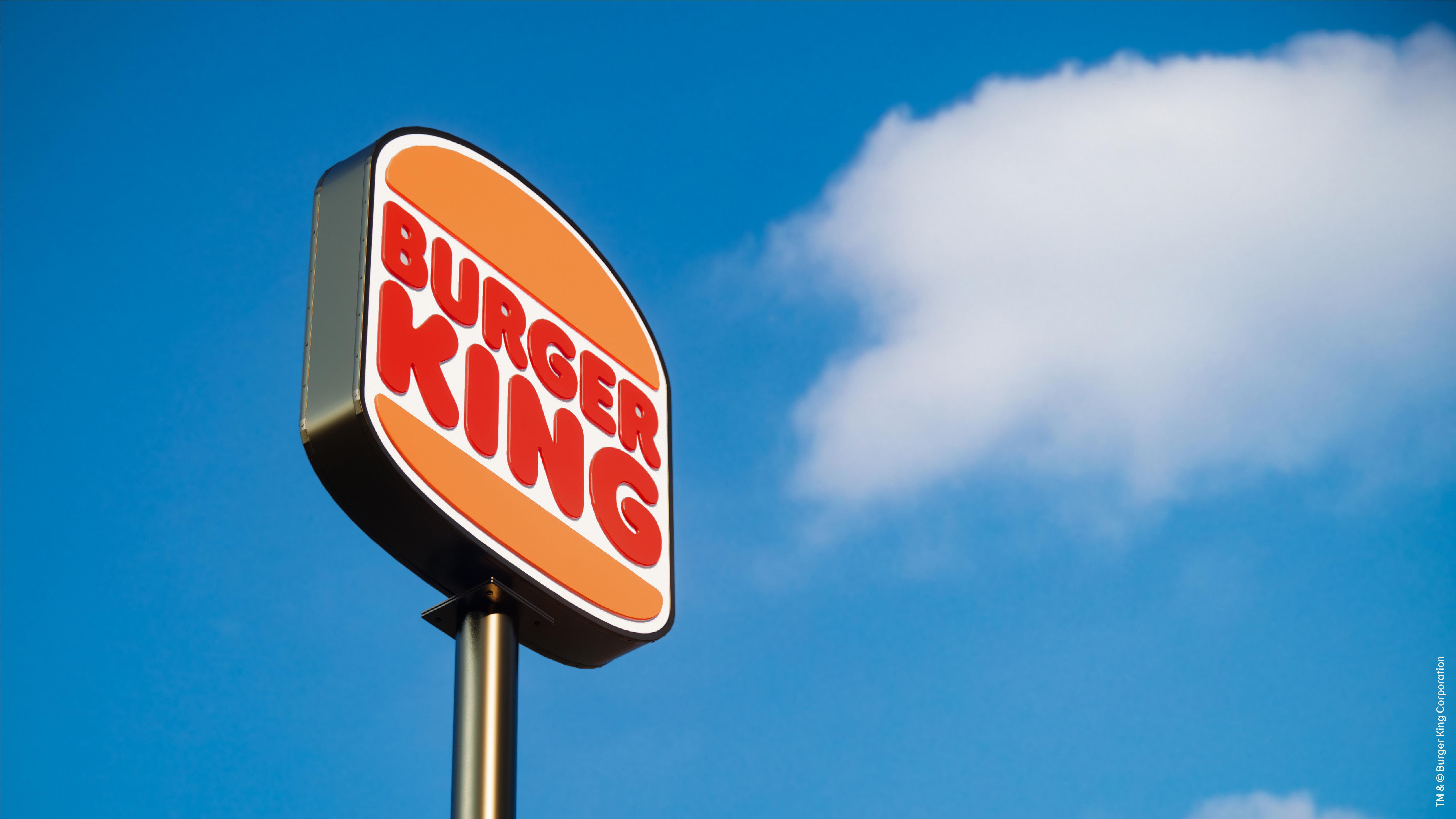 Burger King unveils new logo in brand redesign
