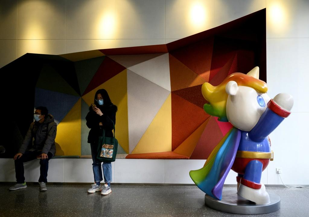 The firm's office boasts rainbow unicorn mascots, gender-neutral toilets and photos of Ma Baoli's meetings with dignitaries