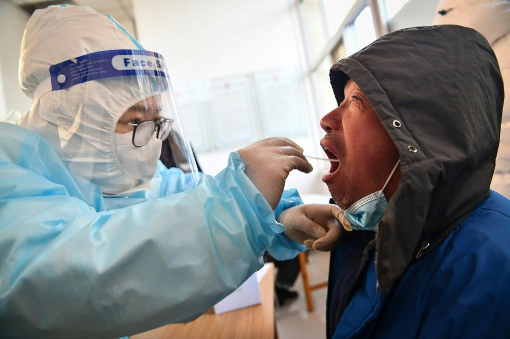 Around 100 new Covid-19 cases have been discovered in the past week in Shijiazhuang, a city in Hebei province near Beijing