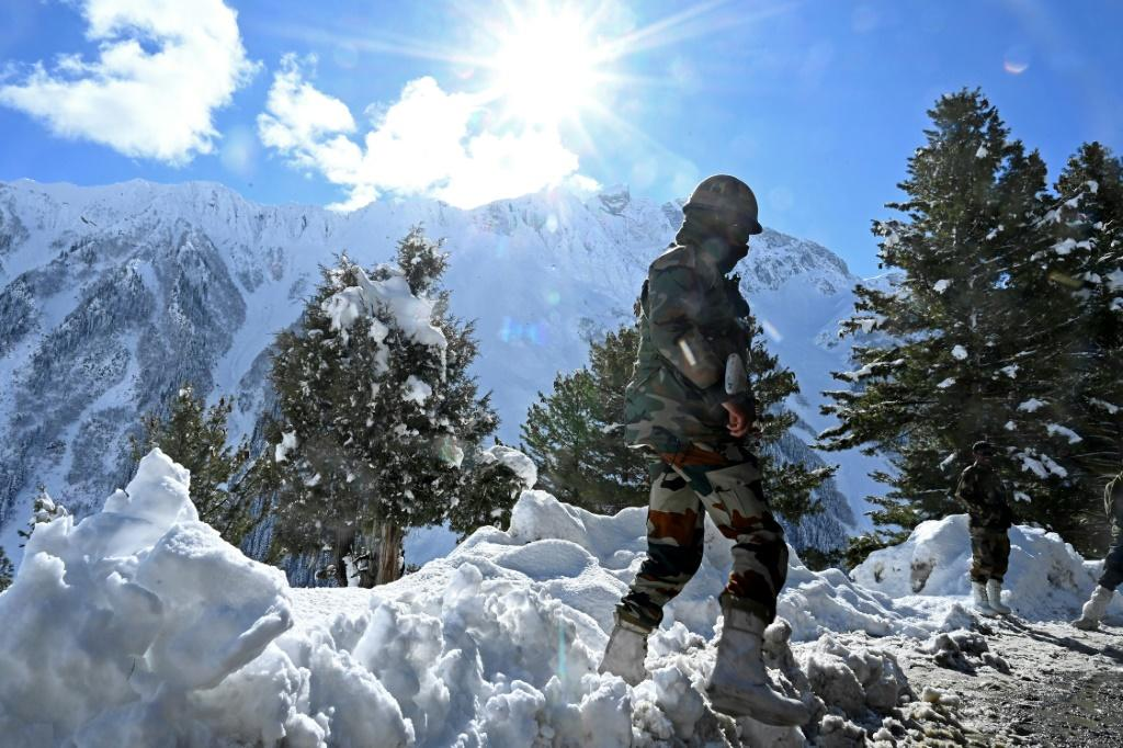 India and China have poured tens of thousands of troops and heavy weaponry into the tension zone in the Ladakh region since pitched battles in June