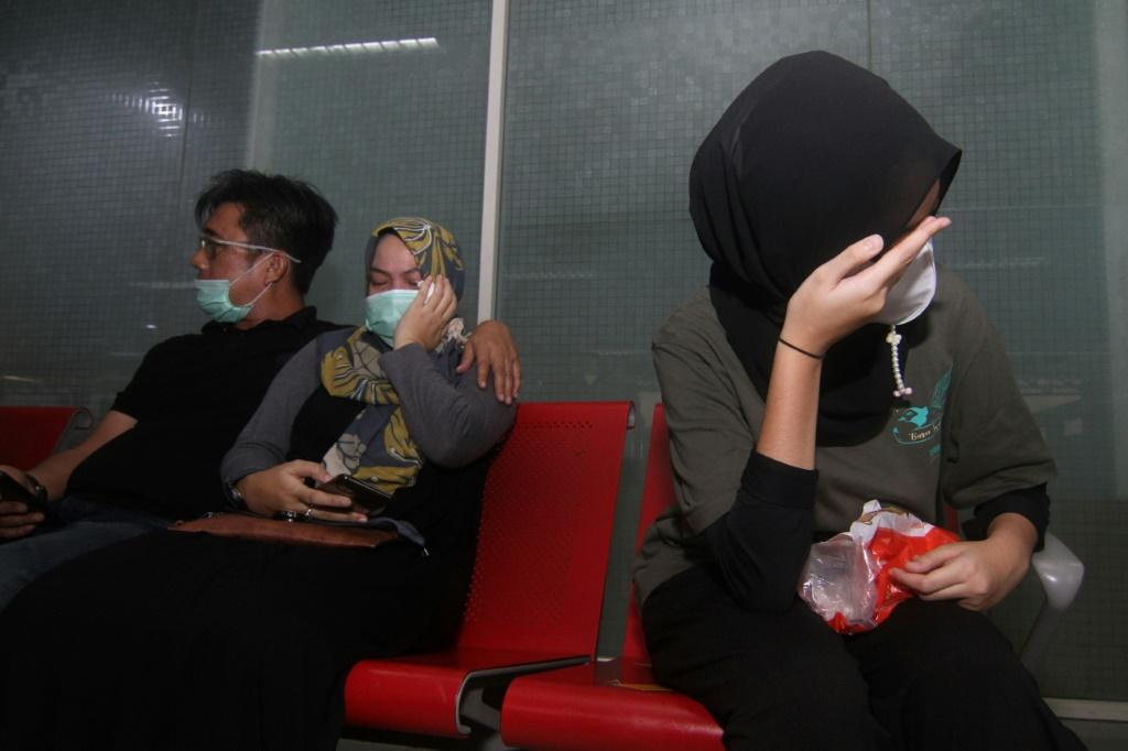 Sixty-two people were on board the missing Indonesian plane