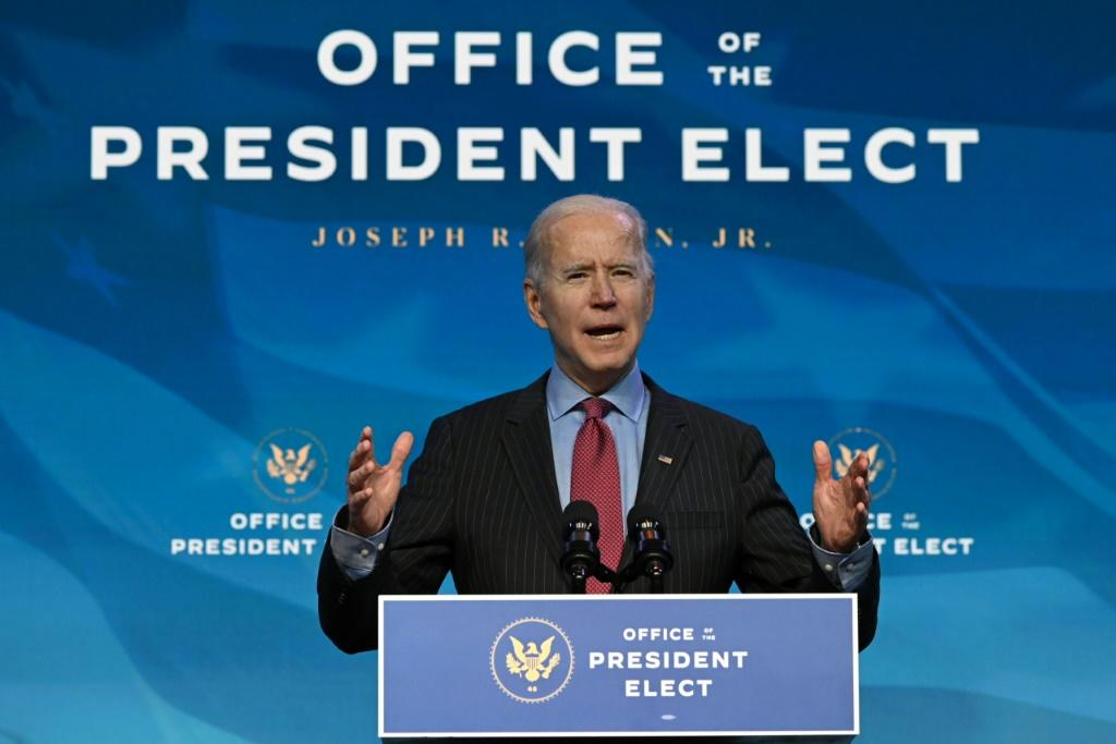 Joe Biden said he will push for a new economic rescue package worth trillions of dollars