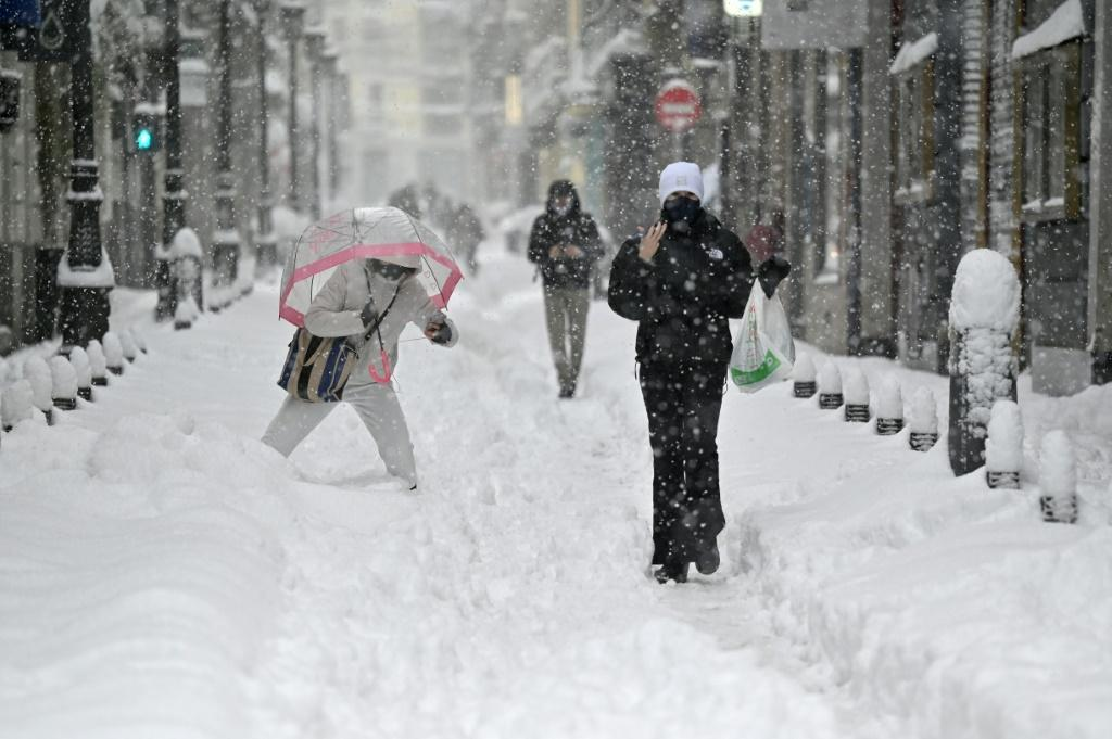 Madrid saw levels of snow not seen in 50 years