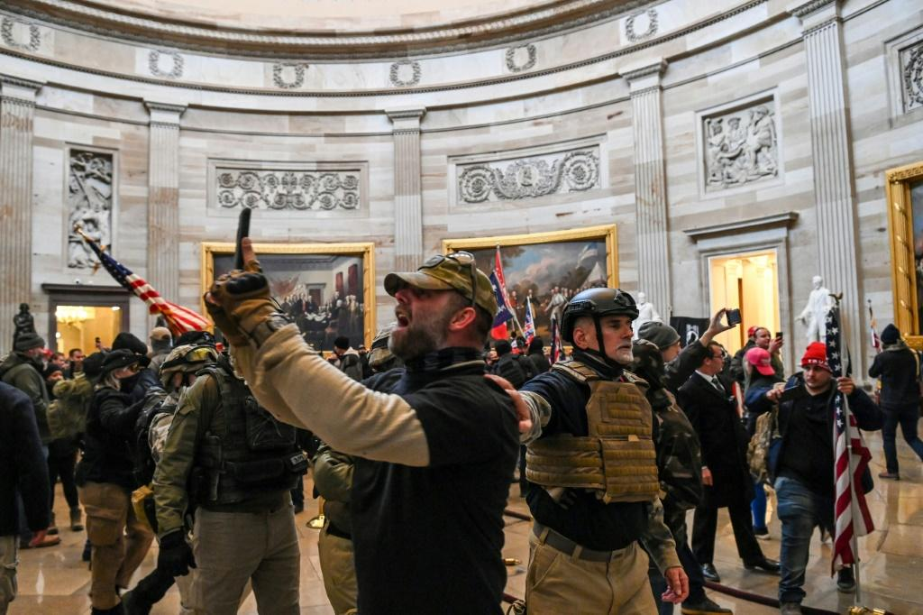 Supporters of President Donald Trump forced their way into the US Capitol on January 6, 2020